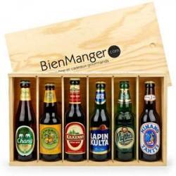 Caisse de 6 bières Tour du monde 6x33cl