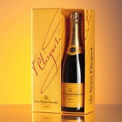 Champagne Veuve Clicquot Ponsardin Brut Carte Jaune 75cl