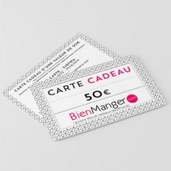 Carte cadeau BienManger.com 50 Eur