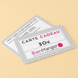 Carte cadeau BienManger.com 30 Eur