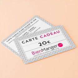 Carte cadeau BienManger.com 20 Eur