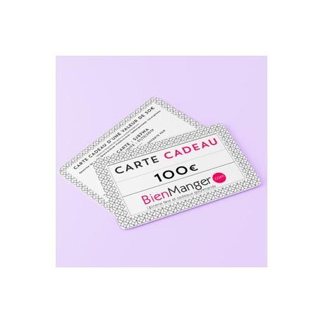 Carte cadeau BienManger.com 100 Eur